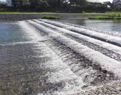 河川改良工事